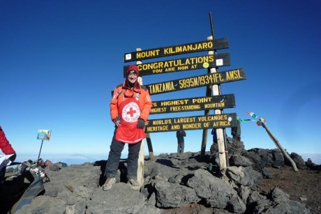 Bould Consulting Limited Chairman climbs Mt Kilimanjaro to raise funds for Red Cross and raise Hurricane Preparedness Awareness