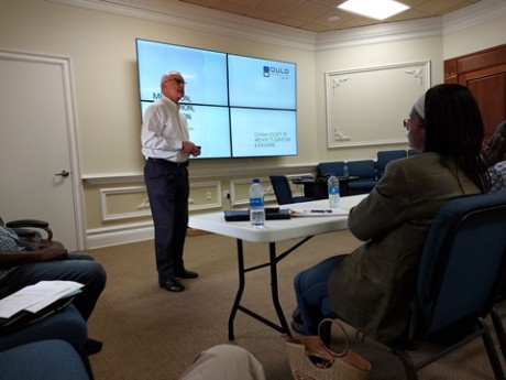 """BOULD CONSULTING PRESENTS TO JOINT MEETING OF CAYMAN CONTRACTORS' ASSOCIATION (""""CCA"""") & CAYMAN SOCIETY OF ARCHITECTS SURVEYORS & ENGINEERS (""""CASE"""")"""