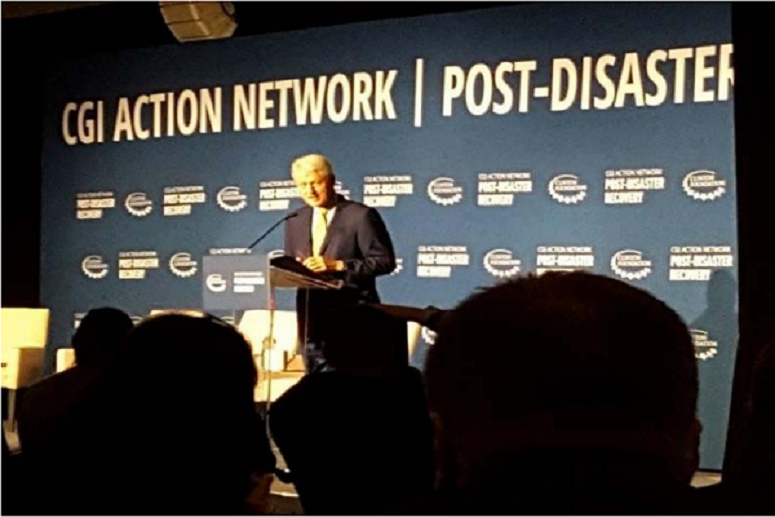 Bould Consulting Limited Participates in CLinton Global Initiative Conference Hosted By President Bill Clinton.