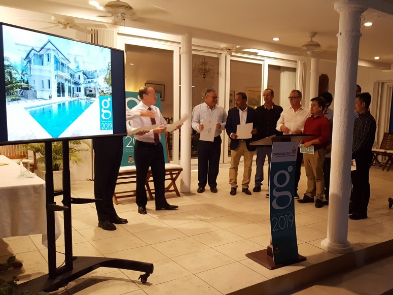 Cayman Island Governors Award Winner 2019 for Design and Construction Excellence